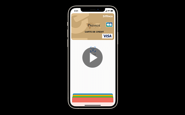 apple pay face id sur iphone